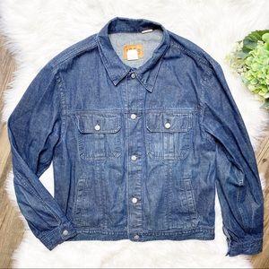 • Gap 1969 Vintage Denim Button Front Jean Jacket